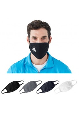 Double Layer 100% Jersey Cotton Face Mask for Rush Shipping