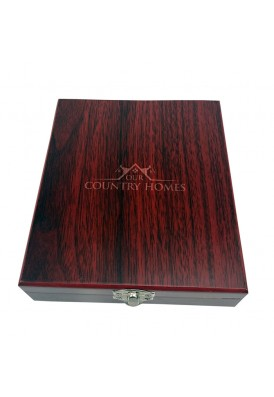 Executive 5 Piece Wine Gift Set in Wooden Deluxe Box
