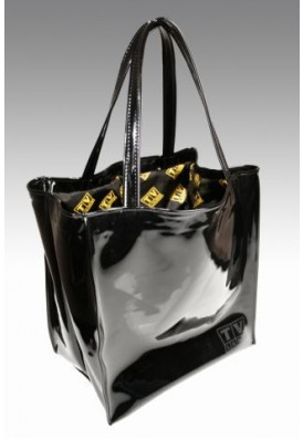 Patent Shopper Tote Bag
