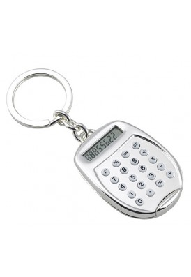 Silver Keychain Calculator