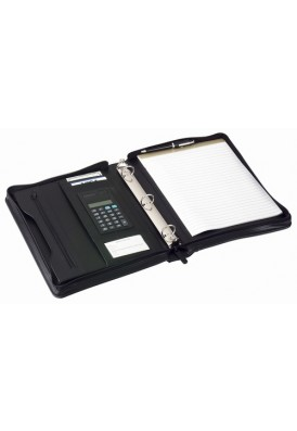 Binder Style Zippered Portfolio