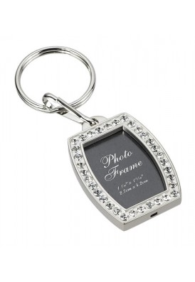 Brilliant Crystal Photo Key Chain