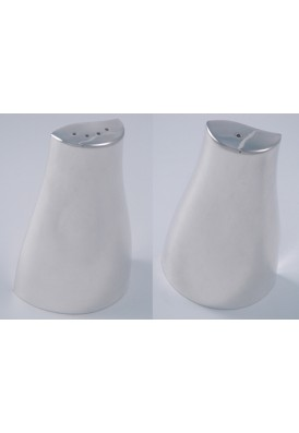 Moda Silver Salt and Pepper Shaker Set