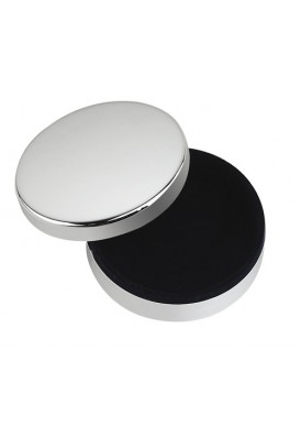 Silver Round Box with Liner