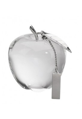 Deluxe Crystal Apple Paperweight