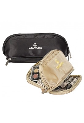 Deluxe Quilted Cosmetic Case