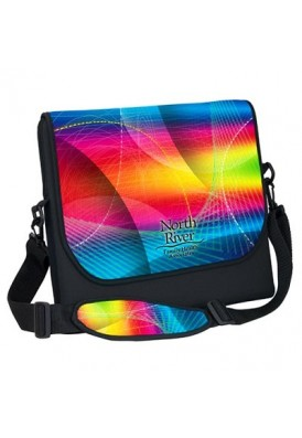 Neoprene Laptop Sleeve Briefcase Medium, Full Color Imprinting and Sublimation