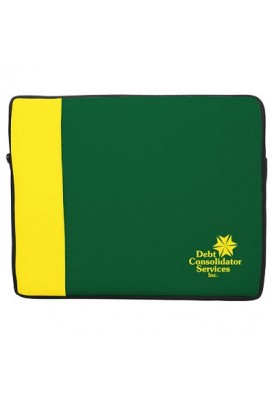 Two-Tone Neoprene Laptop Sleeve Large