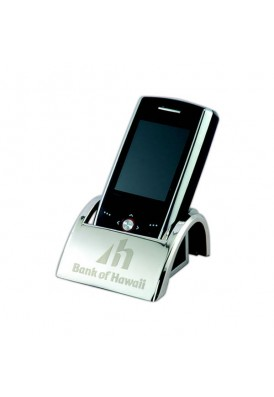 Nickel Plated Cell Phone Holder