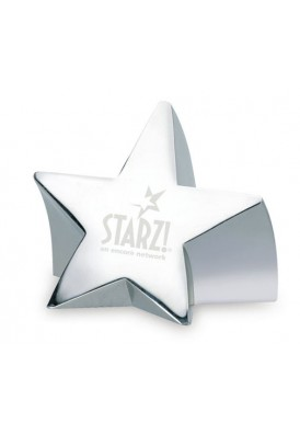 Star Struck Silver Paperweight