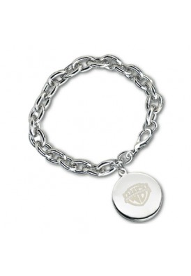 Tiffany-like Circle Charm Bracelet