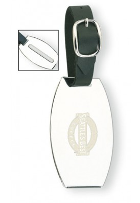 Leather Strap Luggage ID Tag
