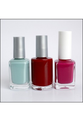 Custom Logo Imprinted Nail Polish Square Bottles