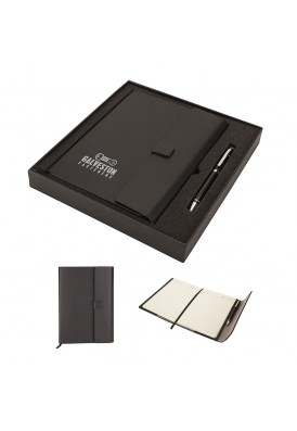 Executive Journal and Matching Pen Gift Set