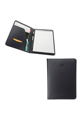Simple Soft Leather Padfolio Writing Pad