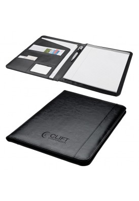 Simple Bonded Leather Padfolio Writing Pad