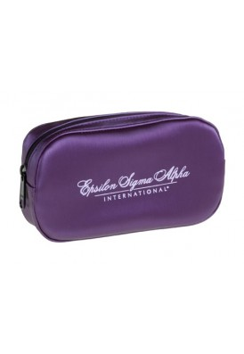Silk Rounded Cosmetic Bag