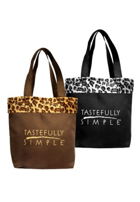 Animal Print Safari Tote Bag