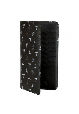 Signature Lamborghini Monogram Travel Wallet