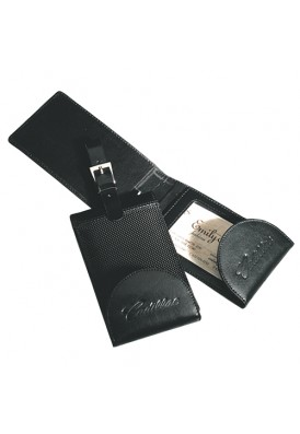 Cowhide Executive Luggage Tag