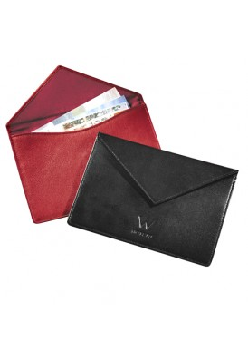 Magnetic Leather Photo Envelope