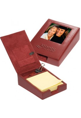 Leather Photo Memo Holder