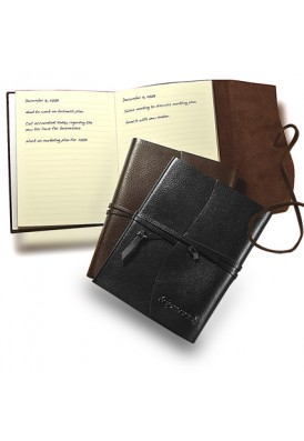 Premium Leather Wrap Journal