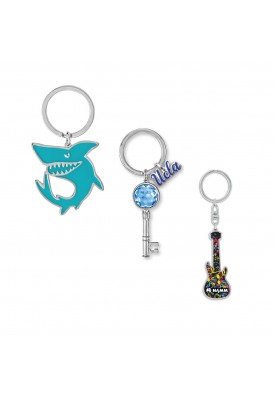 Completely Custom Any Shape Charm Key Chain