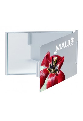 Full Color Folding Mirror Compact