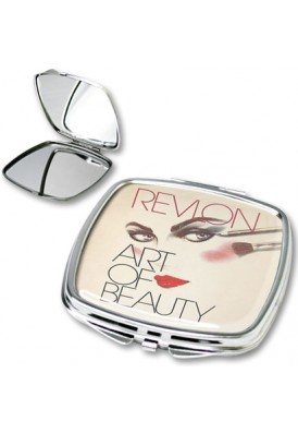 Full Color Square Mirror Compact