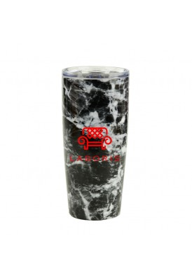 20 Oz Marble Tumbler Travel Mug