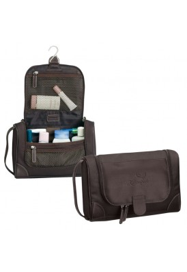 Large Toiletry Amenities Hanging Travel Bag or Shave Kit