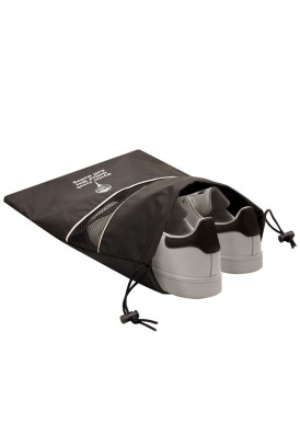 Reusable Ripstop Washable Shoe Bag with Mesh Accent
