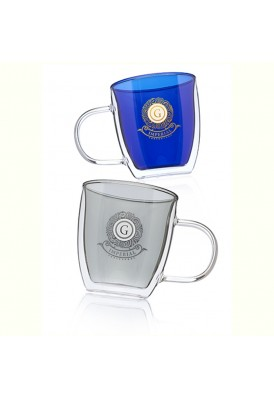 10 Oz Glass Coffee Mugs