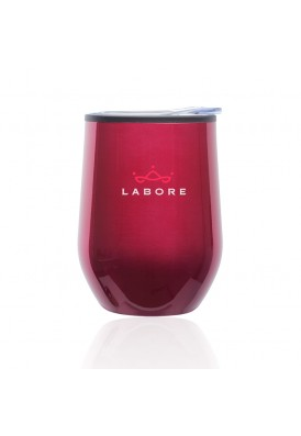 12 Oz Stemless Metallic Wine Glass