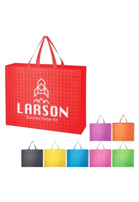 Trendy and Modern Patterned NonWoven Colorplay Tote