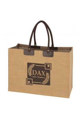Justice Large Jute Tote