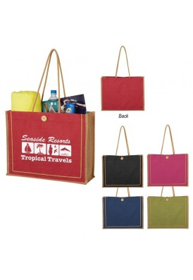 Shoulder Cotton Cord Designer Jute Tote Bag