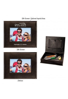 Leatherette Photo Keepsake Organizer Box