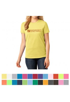 Top Selling Port & Company® Ladies Core Cotton Colored T-Shirt - LT-WGT