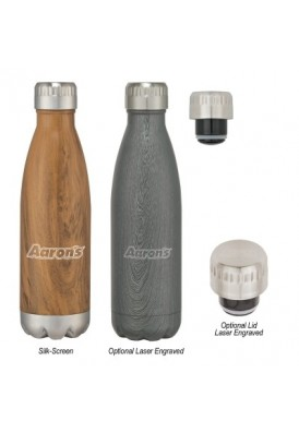 Designer Wood Style 16 Oz On-Trend Vacuum Bottle