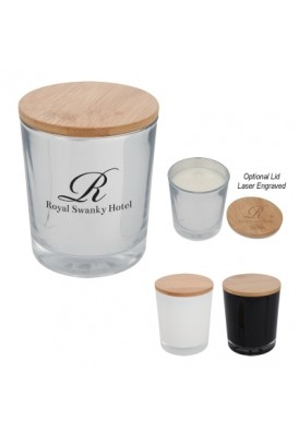 5.25 Oz Candle with Wooden Lid