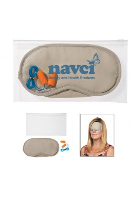 Basic Relax Travel Kit with Eye Mask and Ear Plugs