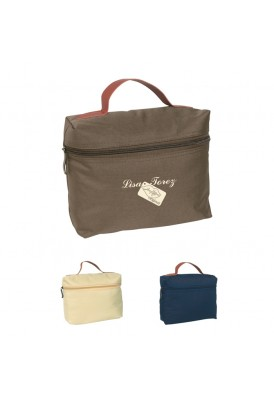 Lightly Travel Zippered Amenities Bag