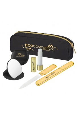 4 Piece Beauty Collection Gift Set in Satin Pencil Case
