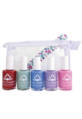 Gorgeous Nail File and Nail Polish Bottles Gift Set