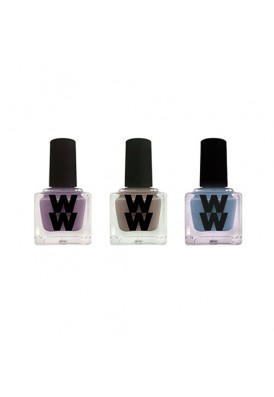 Custom Nail Polish Squarish Wide Bottles
