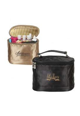 Designer Quilted Collection Amenities Bag