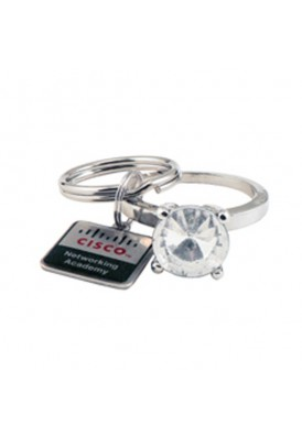 Bling Diamond Ring Key Chain