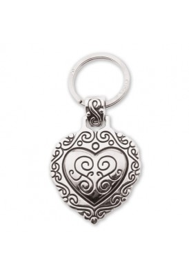 Vintage Heart Key Chain